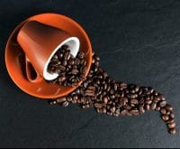 Café derramado