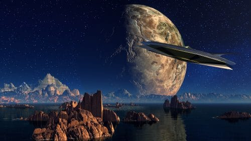 O que significa sonhar com disco voador