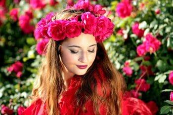 Banho de rosas vermelhas para atrair homens