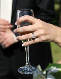 própria festa de casamento