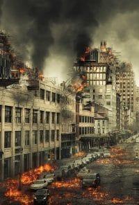 grandes destruições no fim do mundo