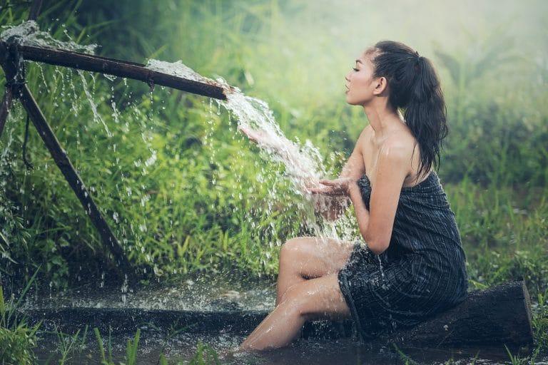 Sonhar com banho