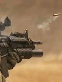 arma disparando