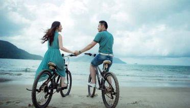 Sonhar andando de bicicleta