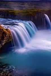 água limpa corrente