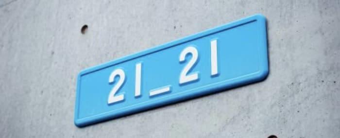 21 e 21 horas