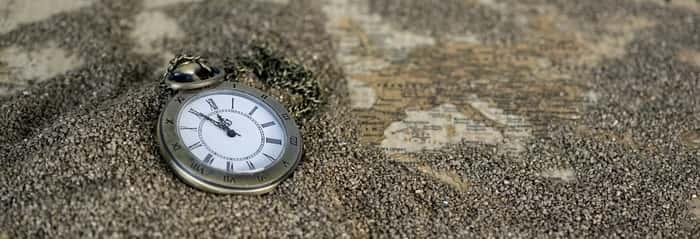 Relógio com significado das horas exatas