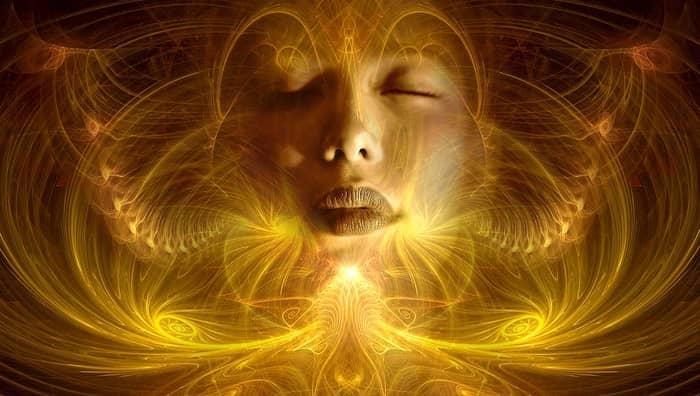 Ver pontos de luz no espiritismo